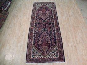 4x10 Persian Hamadan Runner Handmade Antique Oriental