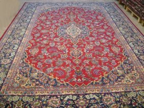 10x14 Persian Tabriz Rug Hand Knotted Oriental