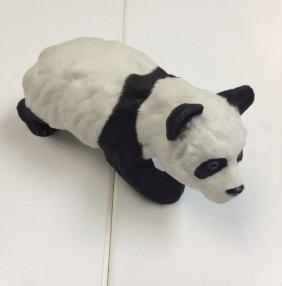 Boehm Fragile Porcelain Black White Collectible Panda