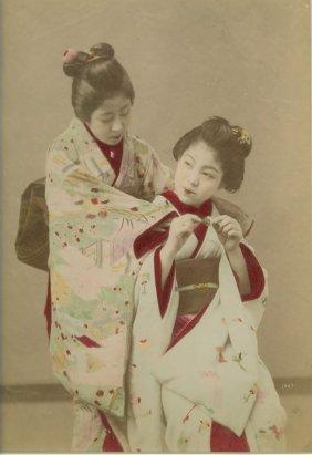 Two Maeko, Apprentice Geishas