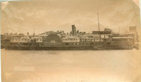 Paddle Steamer Hankow At Canton, C1870