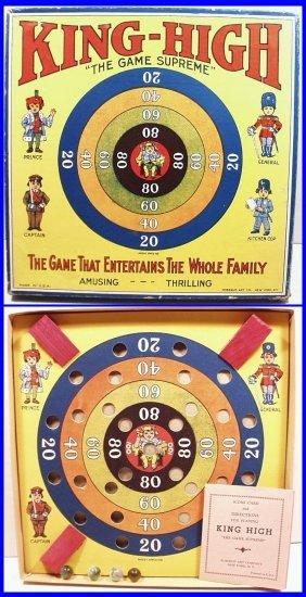 "Rare Vintage 1930's King-high ""the Game Supreme"" Family"