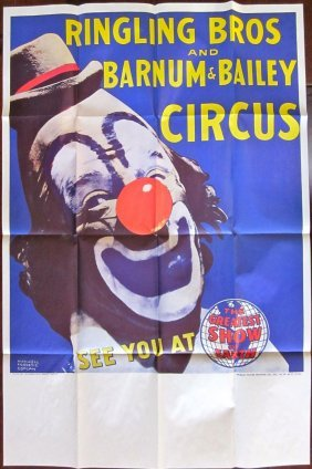 Ringling Bros. Barnum & Bailey Circus Poster - Famous