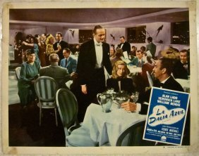 Blue Dahlia 1946 U.s. Spanish Export Lobby Cards -