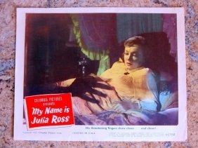 My Name Is Julia Ross - Original 1945 Lobby Card Set Of