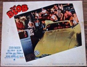 The Blob -original 1958 Lobby Card #1 Poster- Rare