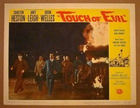 Touch Of Evil '58 Lc #5 ~ Heston + Janet Leigh &