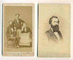 Lot Of 2,1872 Singer Sewing Machine Agency Rio De