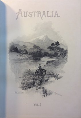 (1892) Australasia Illustrated. Illustrated By Leading