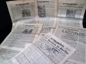 Wwii Stars And Stripes Newspaper Collection