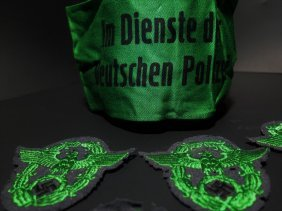 Wwii German Nazi Police Patches