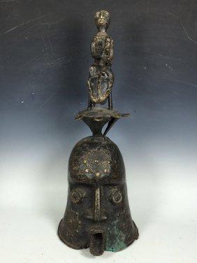 Bronze Benin Large Bell