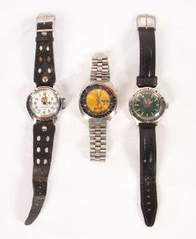 3 Sport Watches: Russian And Vintage Seiko C.1960