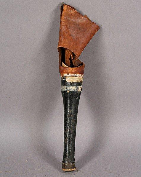 wooden peg leg 1