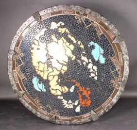 GOTHIC INDUSTRIAL MULTICOLORED FANTASY WORLD MAP