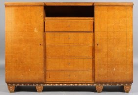 ART DECO GENTLEMEN'S DRESSING CABINET