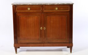 Directoire Mahogany Bronze 2 Door Server 1920