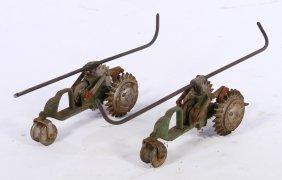 Pair Tractor Style Lawn Sprinklers