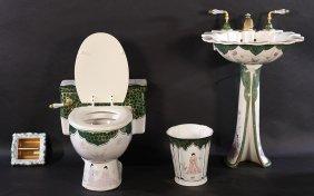 Sherle Wagner Bathroom Sink & Accessories