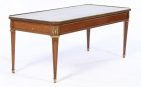 Jansen Mahogany Bronze Mounted Coffee Table 1940