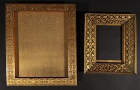 PAIR OF BRONZE TIFFANY PICTURE FRAMES MARKED 1910