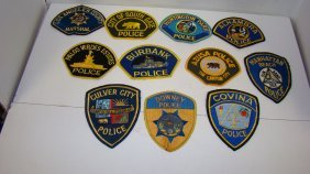 11 Various California County And City Law Enforce