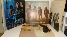 4 Vintage Record Albums-the Doors