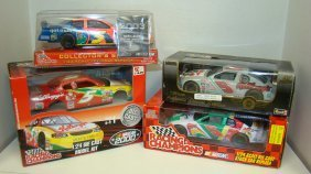 (4) Nib Racing Champions Nascar #5 & Kellogg's Die