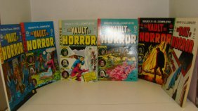 6 Volumes The Vault Of Horror Comic Books
