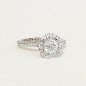 2 Carat Natural Diamond Engagement Ring