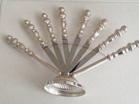 Sterling Silver Knife Set