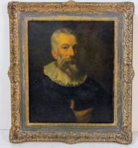 19th C. CONTINENTAL PORTAIT PAINTING
