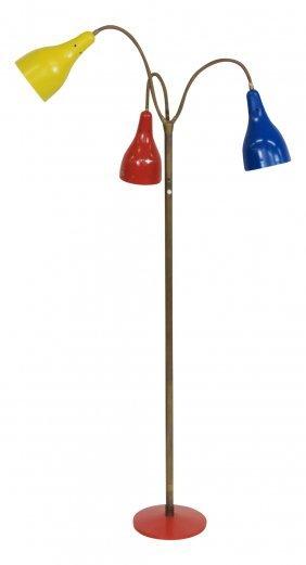 Italian Modern Triennale Style Floor Lamp