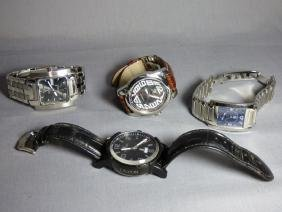 Group Of Mens Wristwatches