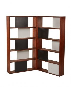 Evans Clark Hinged Bookcase