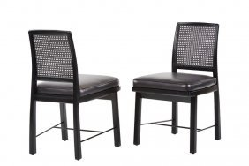 Edward Wormley Side Chairs (2)