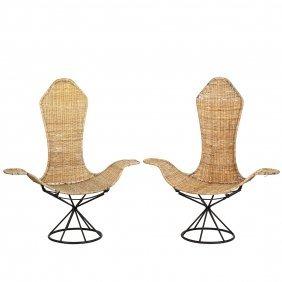 Danny Ho Fong Lotus Chairs (2)