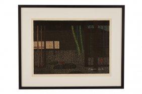 Kyoto Saito Woodblock Print