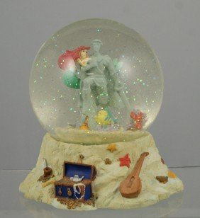 "The Little Mermaid Musical Snow Globe, ""Part Of Y"