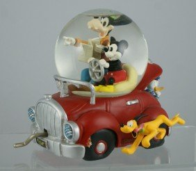 Mickey Mouse, Goofy, Pluto, Donald Duck Car Music