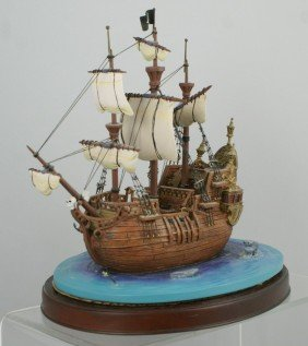 Peter Pan Captain Hook's Pirate Ship, The Jolly R