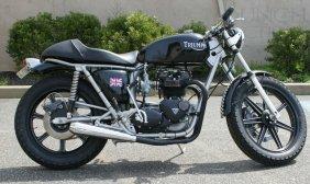 1976 Triumph T-140 750cc, Full Resto-mod By Profess