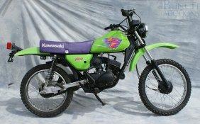 1998 Kawasaki KE100, Street Legal, Have Title, Rebu