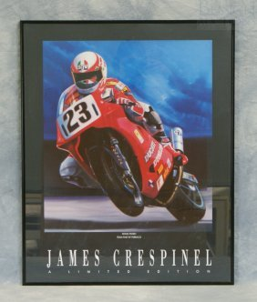 "James Crespinel Limited Edition Print ""Doug Polen T"