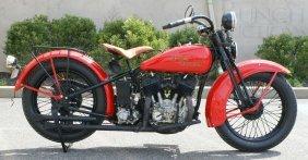 1930 Harley Davidson V, 74 Cubic Inches,  Runs Good