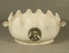 Wedgwood The Franklin Bowl Expressly Designed For