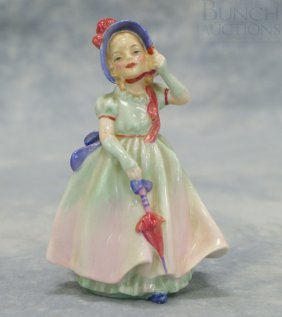"Royal Doulton, ""Babie"" Figurine, 5"" Tall"