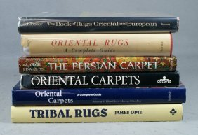 (6) Oriental Rug Reference Books, Oriental Carpet