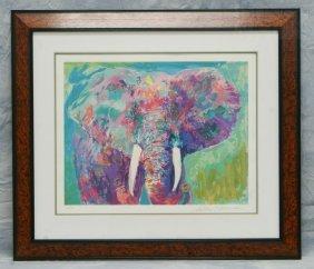 LeRoy Neiman, American, 1921- , Elephant, Limited