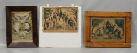 """(3) Currier & Ives Prints: """"stages Of A Woman's Life"""